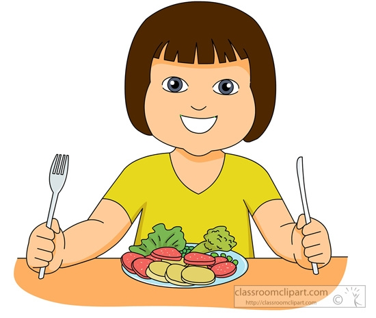 Vegetable clipart nutritious food Nutritious  Food Eating Clipart