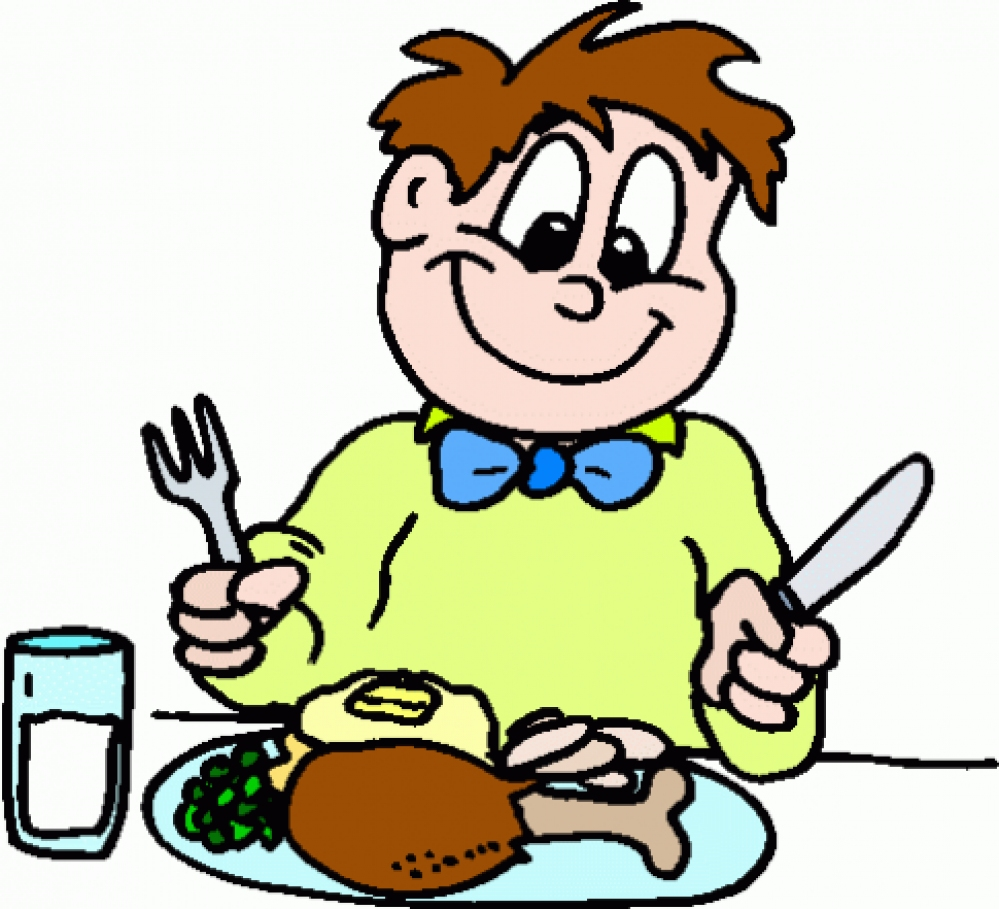 Eating clipart Clipart dinner%20clipart Eating Clipart Kids