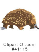 Echidna clipart Echidna Royalty Free by #1110498