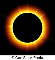 Eclipse clipart Eclipcse royalty black  Solar