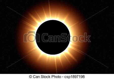 Eclipse clipart #7