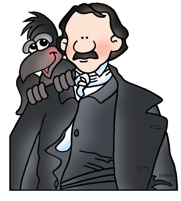 Edgar Allan Poe clipart From  Clip by Art