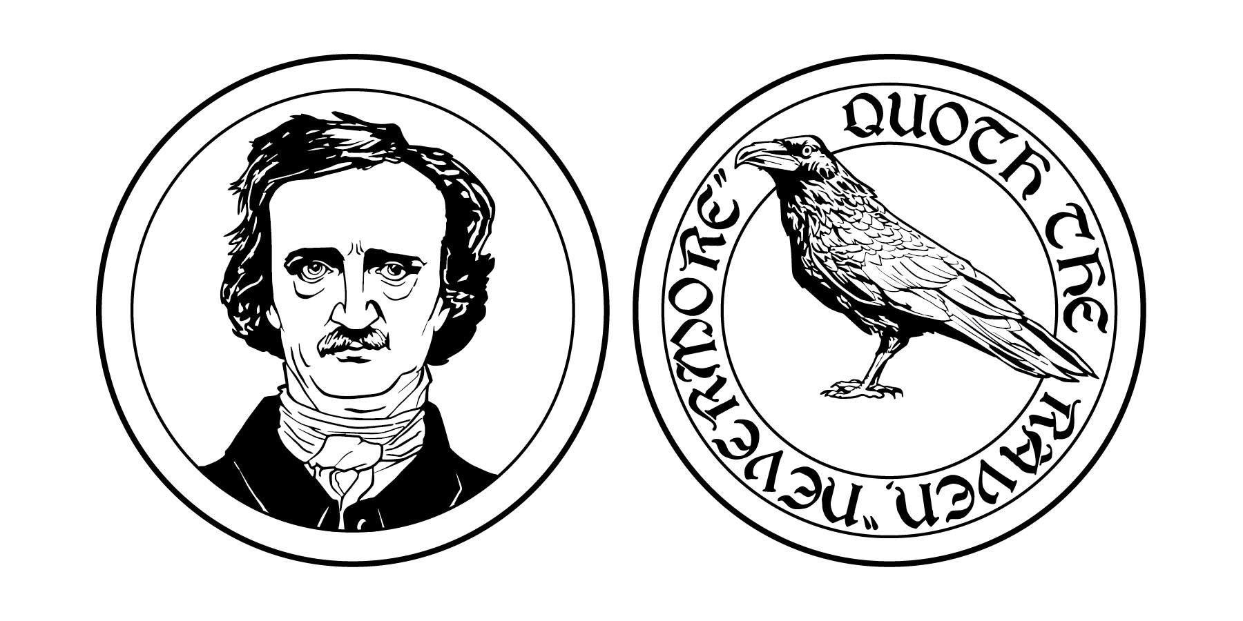 Edgar Allan Poe clipart Clipart Edgar Allan allan clipart