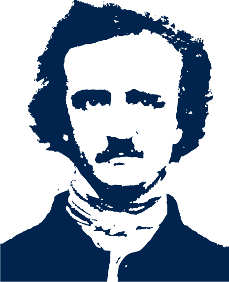 Edgar Allan Poe clipart Sandbox Threads T One Piece