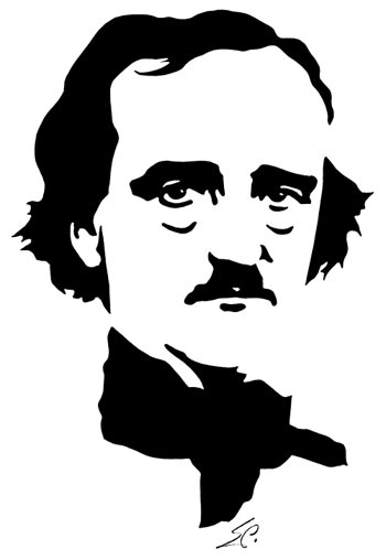 Edgar Allan Poe clipart Terror the Library of for