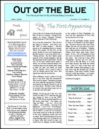 Editingsoftware clipart church newsletter File: images Samples Church Newsletter