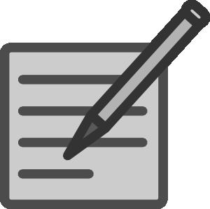 Editingsoftware clipart document Vector Document Art Edit at