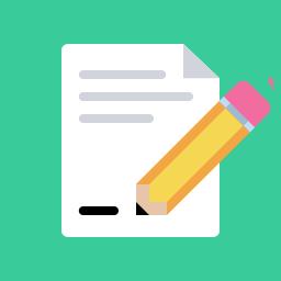 Editingsoftware clipart document Free Document Flat Edit Icon