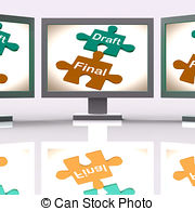 Editingsoftware clipart final draft Stock Mean And Photographs of