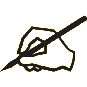 Editingsoftware clipart handwriting pen Clip Art  Editor Edit