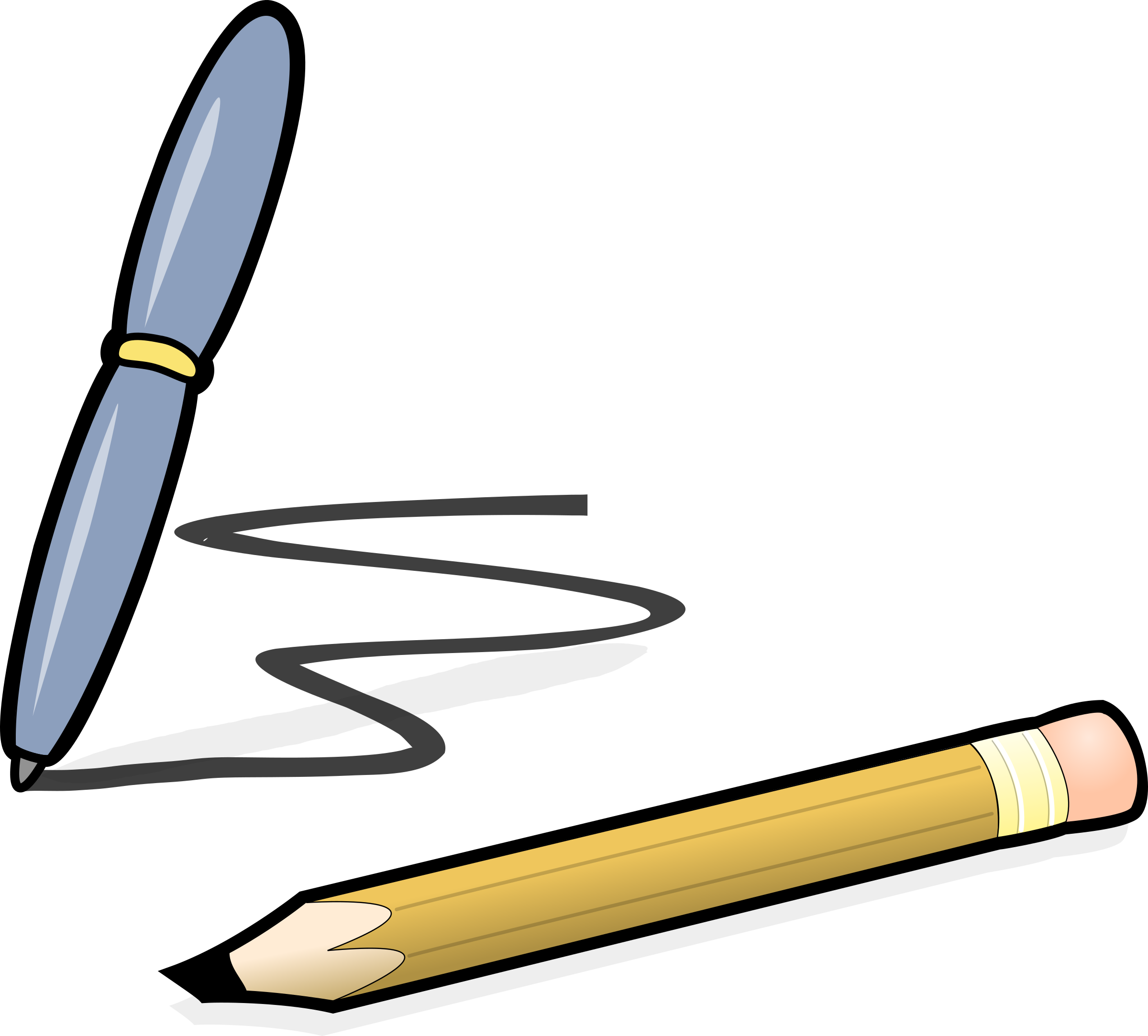 Editingsoftware clipart handwriting pen Pen pencil pencil & pen