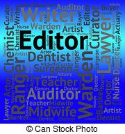 Editingsoftware clipart job  181 Editor job job