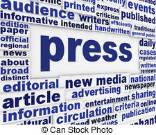 Journalist clipart print media And Journalism Journalists Stock clipart