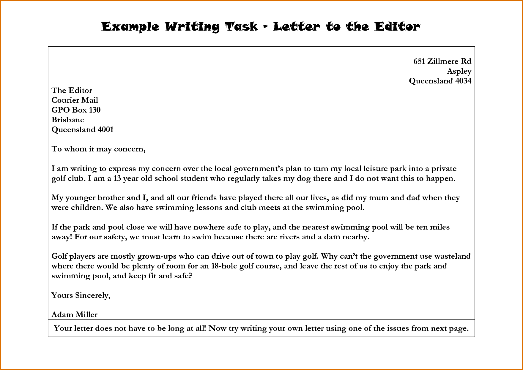 Editingsoftware clipart literature class Letter  Editor Example Letter