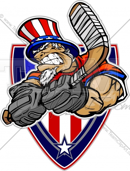 Uncle Sam clipart income tax July Vector Hockey Image Clipart