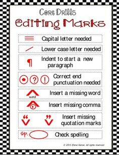 Editingsoftware clipart publication Marks Cliparts Clip  Writing