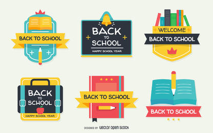 Editingsoftware clipart school newsletter Labels Stock Design Flat VEXELS
