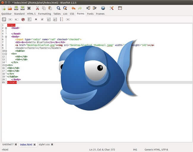 Editingsoftware clipart source information Text Source Editors Linux 5