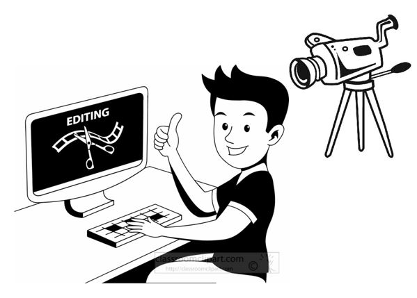 Editingsoftware clipart video production Software Best Opensource Video Editing
