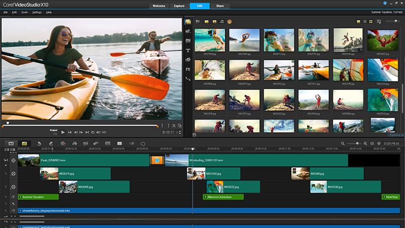 Editingsoftware clipart watch video Corel X10 Videostudio Video Software?