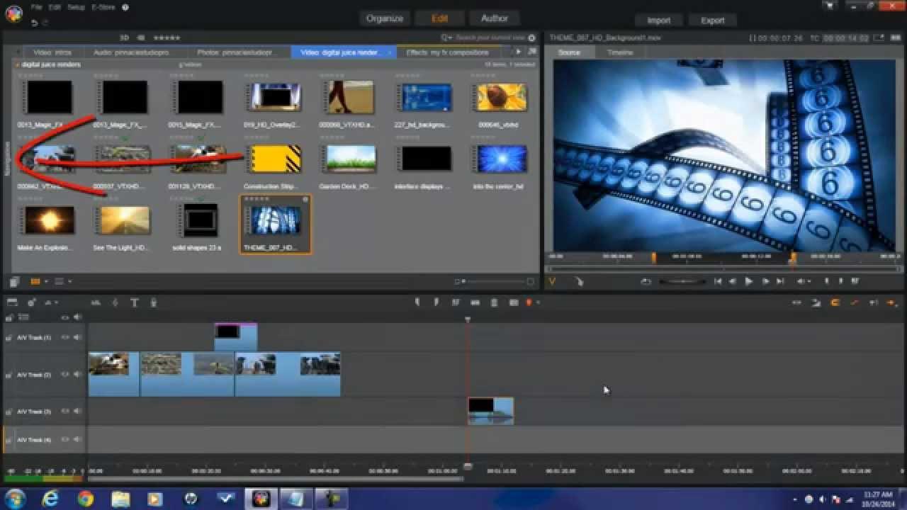 Editingsoftware clipart watch video PinnacleStudioPro Video Editing: PinnacleStudioPro With