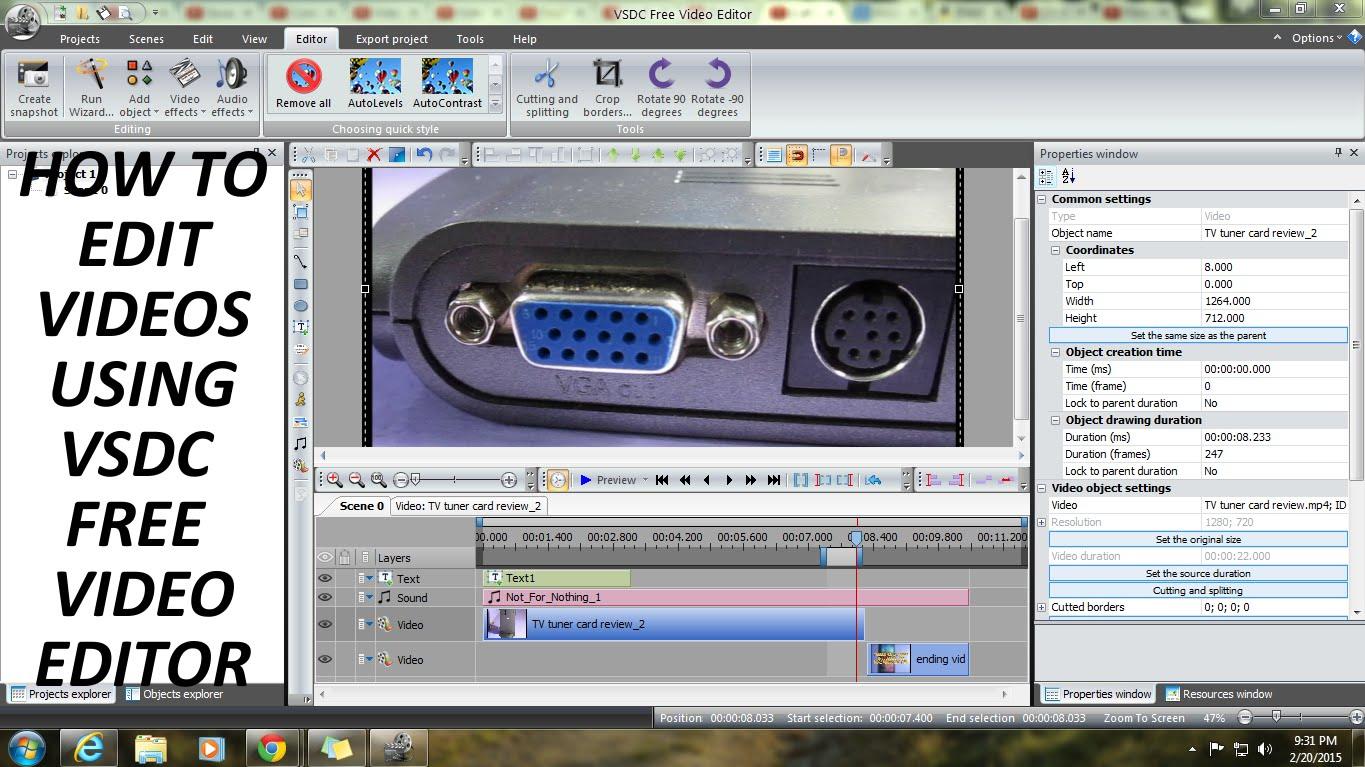 Editingsoftware clipart watch video For VSDC Video Tutorial(How YouTube