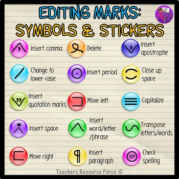 Editingsoftware clipart writing skill Clip Writing Edit Stickers and