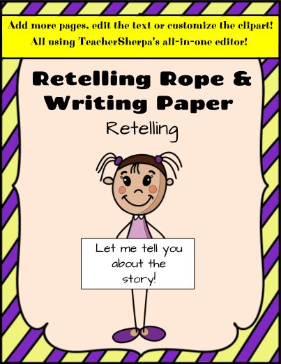 Editingsoftware clipart writing story Retelling of The story world's