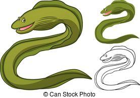 Eel clipart #9