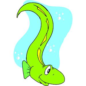 Eel clipart #3