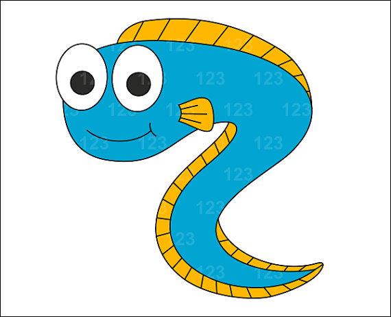 Eels clipart #4
