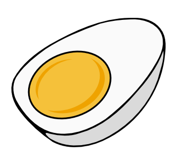 Fried Egg clipart transparent Free Half Clip Free Use