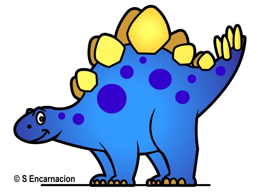 Stegosaurus clipart cute Valentine Balloon Valentine Cartoon by