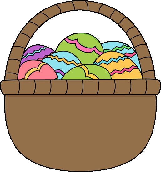 Brown clipart easter basket Egg Egg Images Basket of