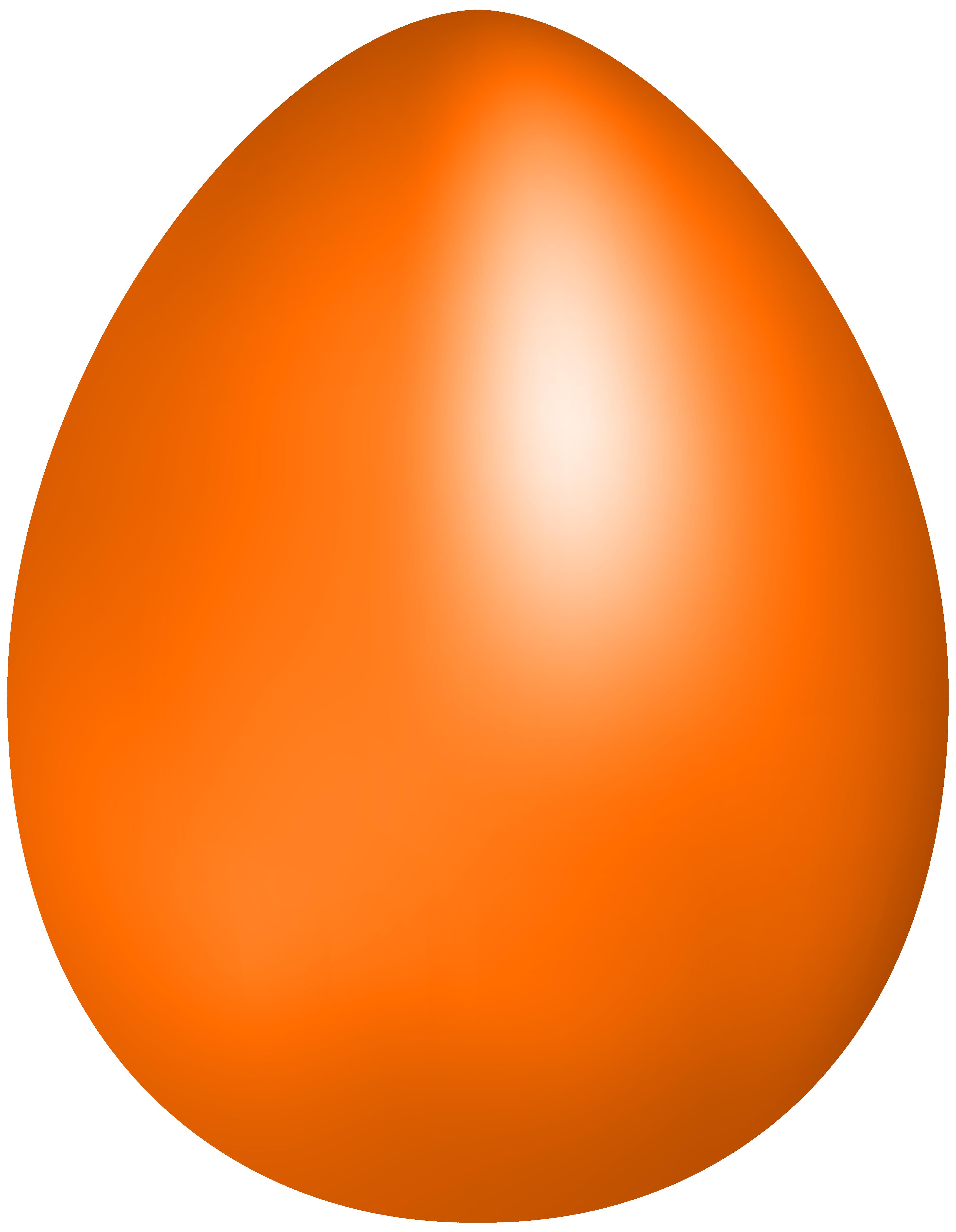 Orange clipart easter eggs Egg Clipart egg