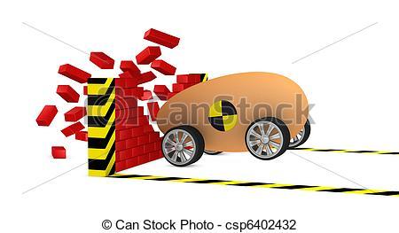 Crash clipart egg Strength Illustration breaks a of