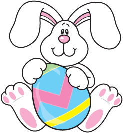 Footprint clipart easter bunny Rabbit domain images bunny easter