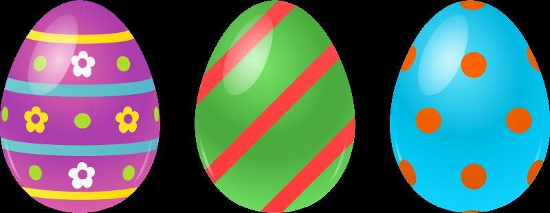 Orange clipart easter eggs Easter Eggs Art Eggs Art
