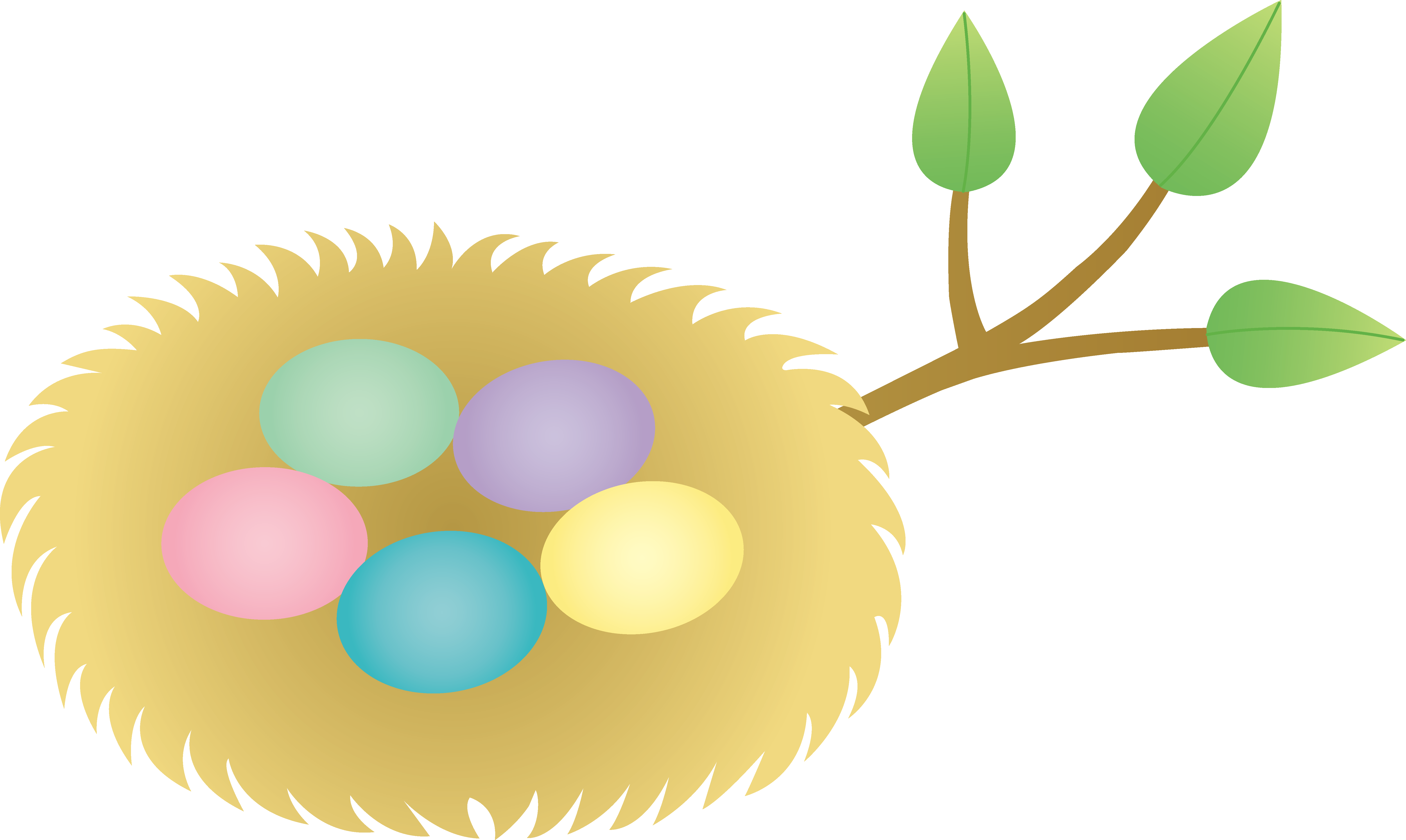 Nest clipart animated #8397 Free Eggs Clipartwork Download