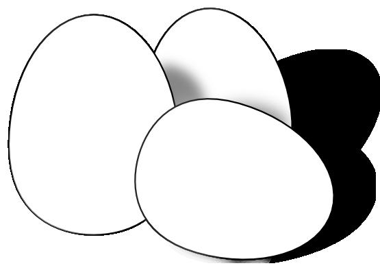 White clipart egg White Free And Clipart