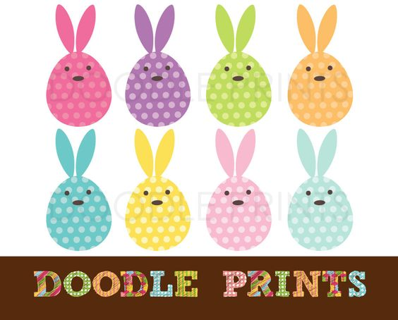 Bunny clipart rabit Personal Clip Clipart Easter Use