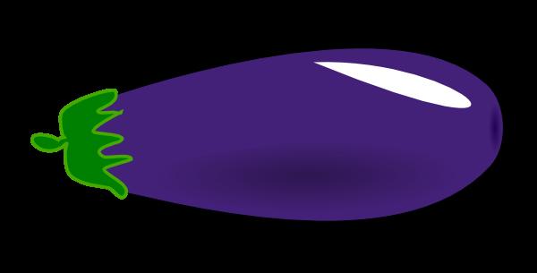Eggplant clipart Cute Clip Little Public Free
