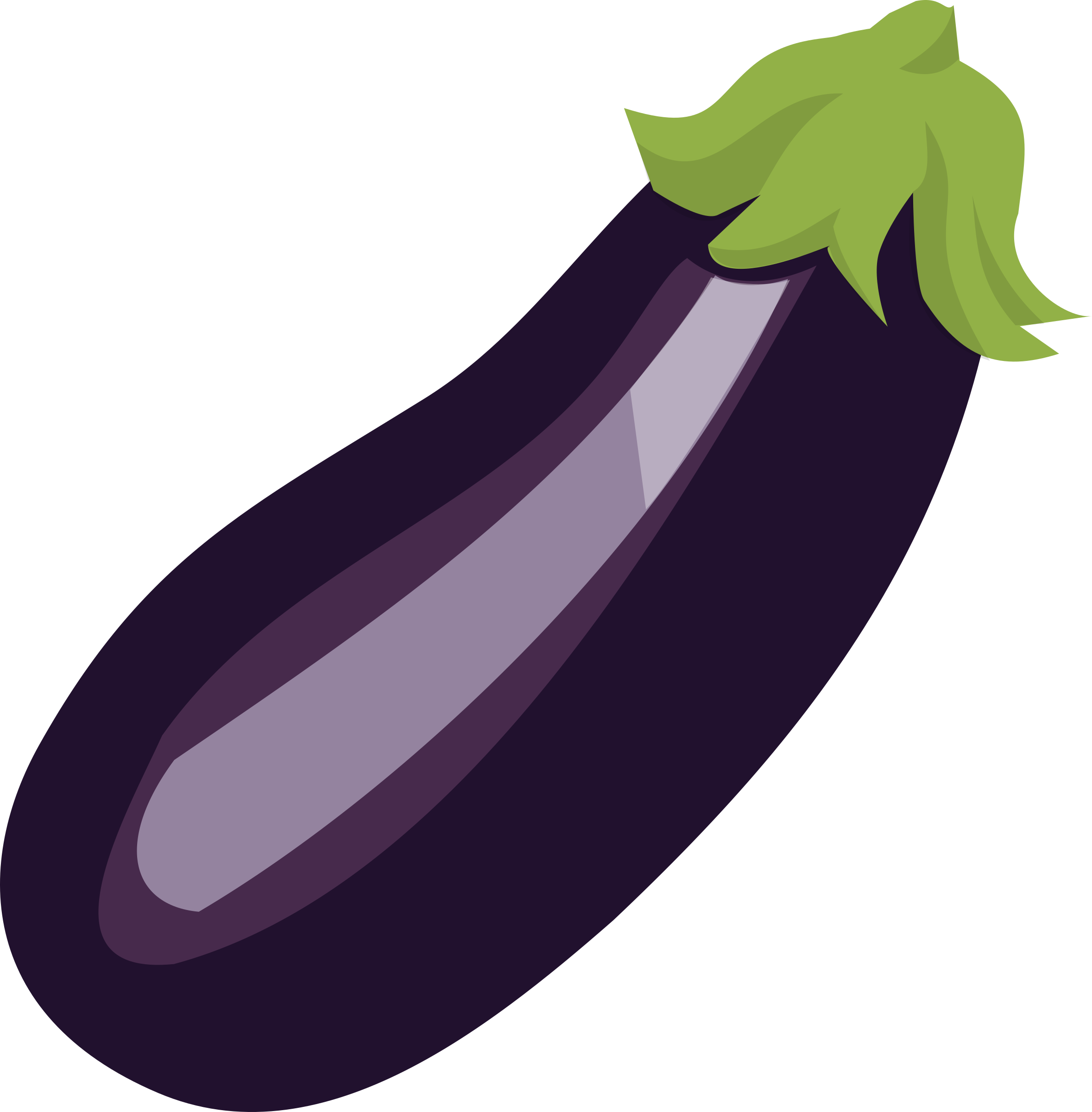 Eggplant clipart Clipart Aubergine Aubergine