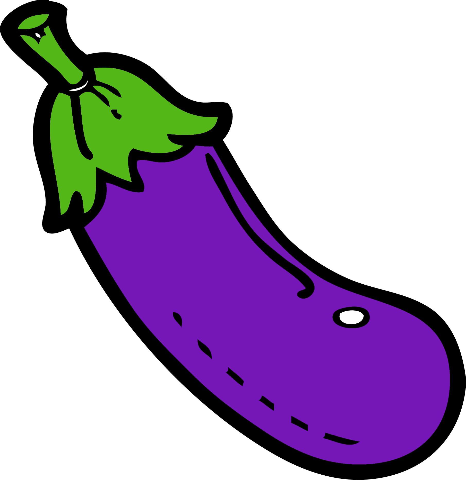 Eggplant clipart Cliparts Clipart Cartoon Vegetable