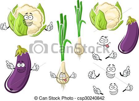Eggplant clipart cauliflower And Cauliflower onion vegetables vegetables