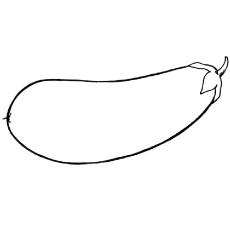 Eggplant clipart coloring page EggplantsColoring coloring image School image