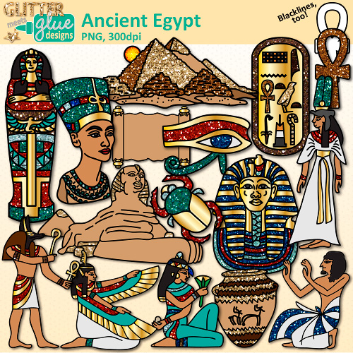 Ancient clipart king tut Clip Art Graphics ancient queen