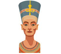 Egyptian Queen clipart egyptian woman Size: nefertiti From: Pictures clipart