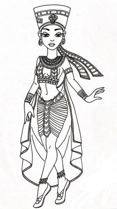 Egyptian Queen clipart Egyptian demoiselle queen  african