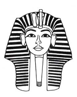 Egyptian Queen clipart black and white Black 101 Black White And